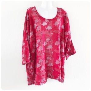 Anthropologie Anokhi Free size tunic top